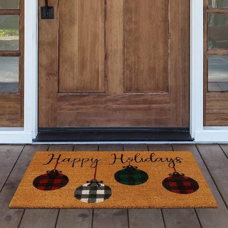 best doormat, holiday