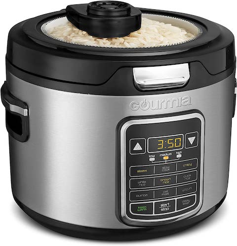 Gourmia GRC970 11-in-1 Digital 20-Cup Rice Cooker