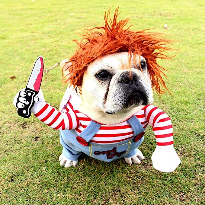 Killer Chucky Dog Costume