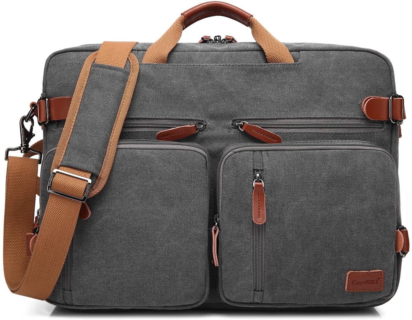 canvas messenger bag