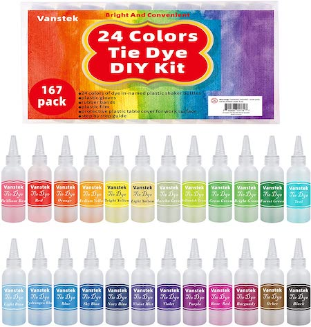 vanstek tie dye DIY kit
