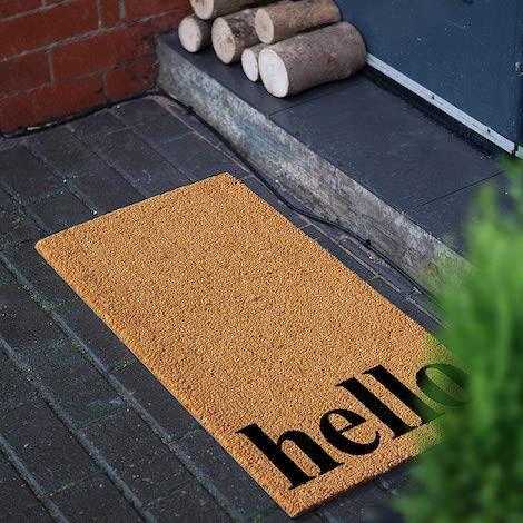 best doormat, modern