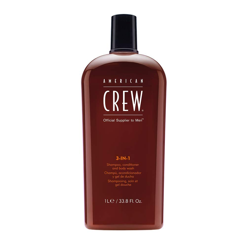 American Crew 3-in-1 Shampoo, Conditioner and Body Wash; best shampoo for men