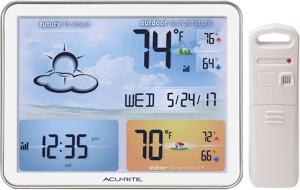 AcuRite 02081M Weather Station with Jumbo Display