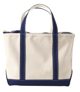 canvas bags boat and tote zip