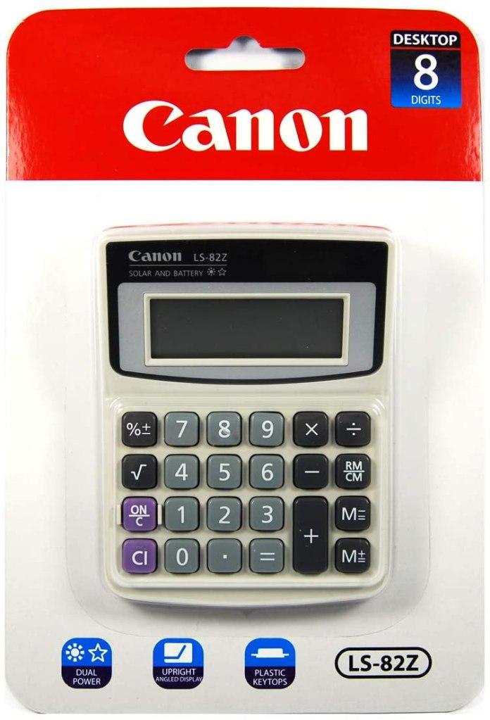 Canon LS-82Z Handheld Calculator, best calculators