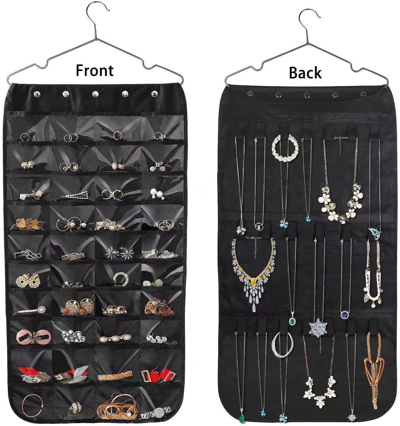 Beaverve hanging jewelry organizer, how to organize a closet