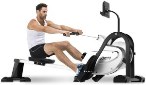 JOROTO Magnetic Rowing Machine, indoor rowing machine