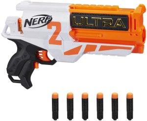 nerf two motorized gun