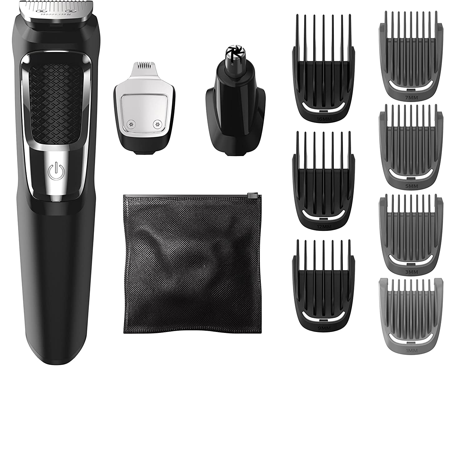Philips Norelco MG3750 Multigroom All-In-One Series 3000 with attachments