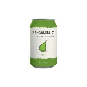 Rekorderlig hard pear cider, best hard cider