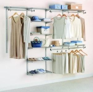 Rubbermaid closet organizer, how to organize a closet