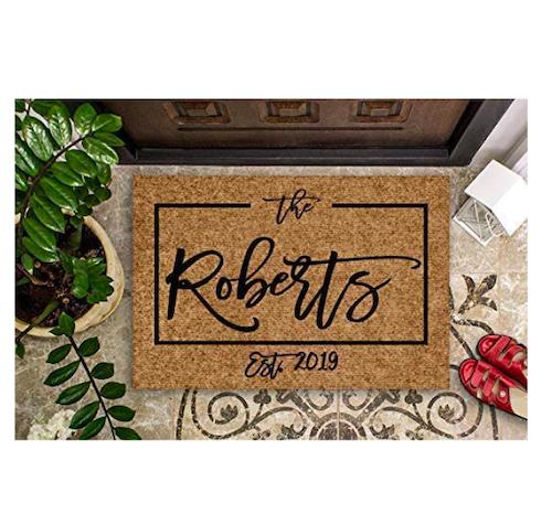 best doormat, custom