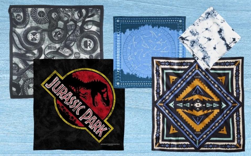 collage of bandanas