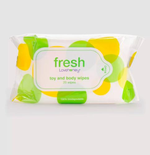 Lovehoney Fresh Biodegradable Sex Toy & Body Wipes