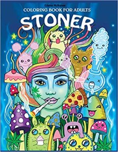 stoner coloring book for adults psychedelic