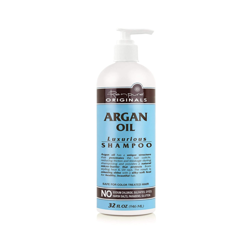 Renpure Originals Argan Oil Luxurious Shampoo, 32 oz bottle