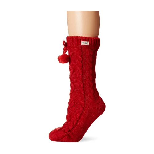 best gifts for mom - UGG Pom Fleece Lined Crew Sock