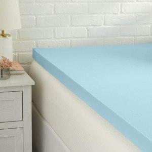 amazon basics cooling mattress topper