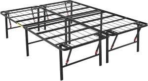 "AmazonBasics Foldable 18"" Metal Platform Bed Frame"