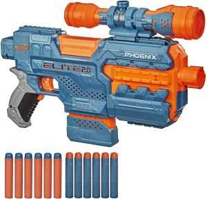 automatic nerf gun - NERF Elite 2.0 Phoenix CS-6 Motorized Blaster