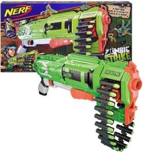 automatic nerf gun - Nerf Zombie Ripchain Combat Blaster