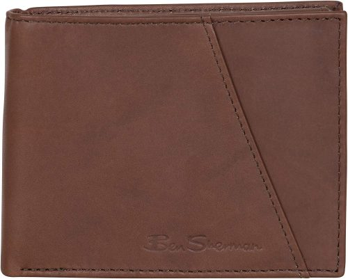 Ben Sherman Leather RFID Wallet