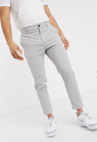 gray shadow plaid bershka corduroy pants
