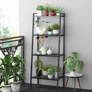 HOMFA metal ladder bookcase, best ladder bookcase