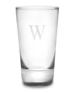monogrammed highball glass, best highball glasses