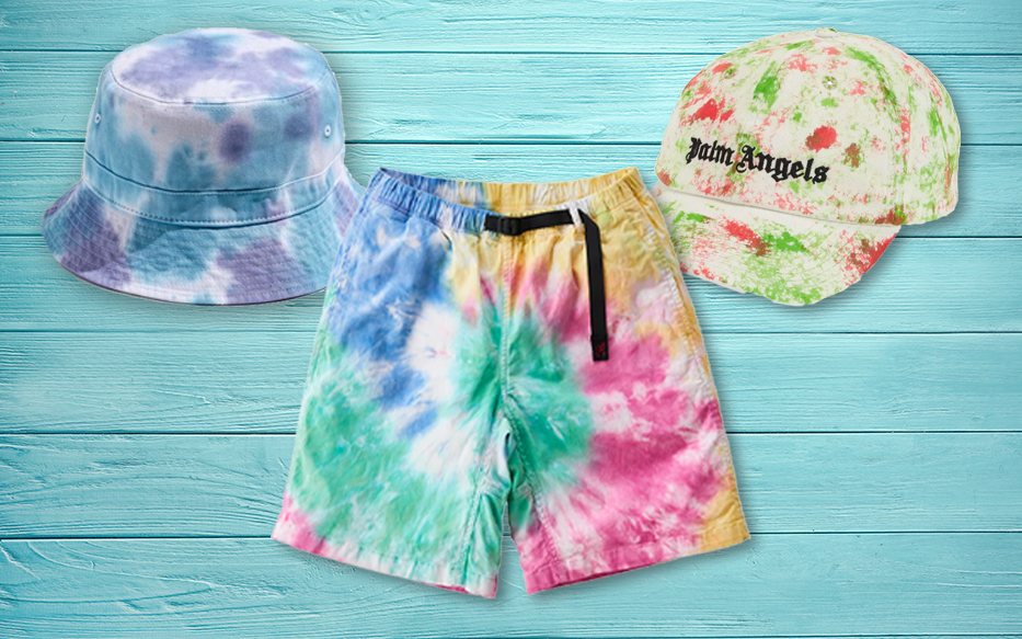 best tie-dye clothing and accessories for