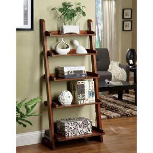 antique oak wood ladder bookcase, best ladder bookcase
