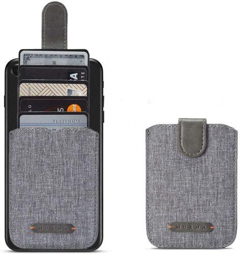 BIAJIYA Phone Front Pocket Card Wallet