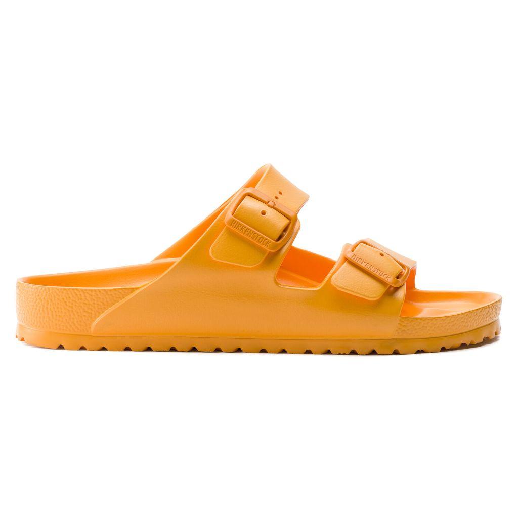 birkenstock eva sandals orange