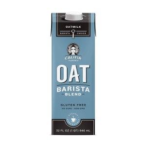 califia oat milk, shelf stable milk