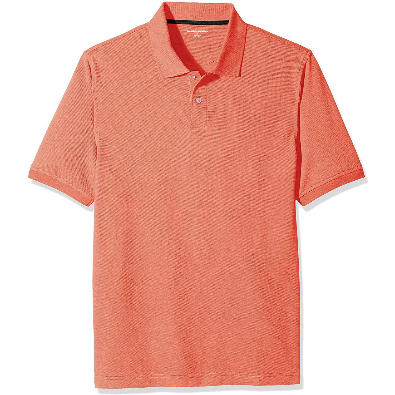 Amazon Essentials Cotton Pique Polo Shirt