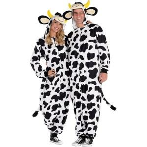 cow onesie halloween costume