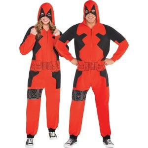 Deadpool Onesie Halloween Costume