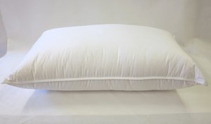 Continental Bedding 100% Premium White Goose Down Luxury Pillow