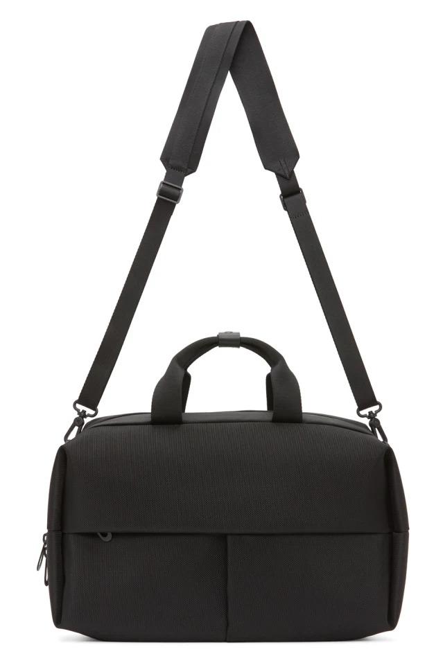 best work bags for men - black messenger work backpack