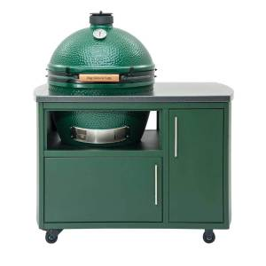Big Green Egg custom cooking island