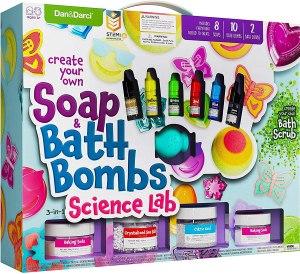 Dan & Darci Soap and Bath Bomb Making Kit for Kids