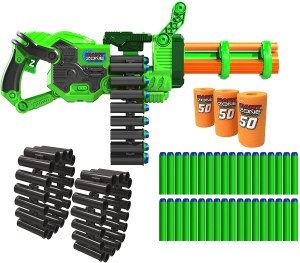 automatic nerf gun - Dart Zone Super Commando Gatling Blaster
