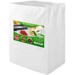"SurpOxyLoc 200 Quart Size 8""x12""Vacuum Freezer Sealer Bags"
