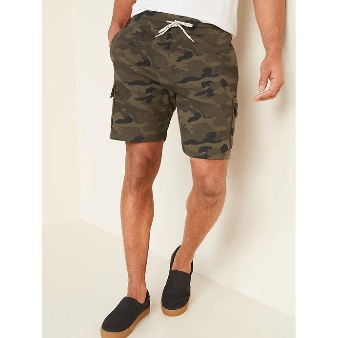 Old Navy Camo Cargo Jogger Shorts
