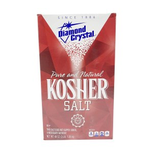 diamond crystal kosher salt, how to get rid of grease stains on clothes