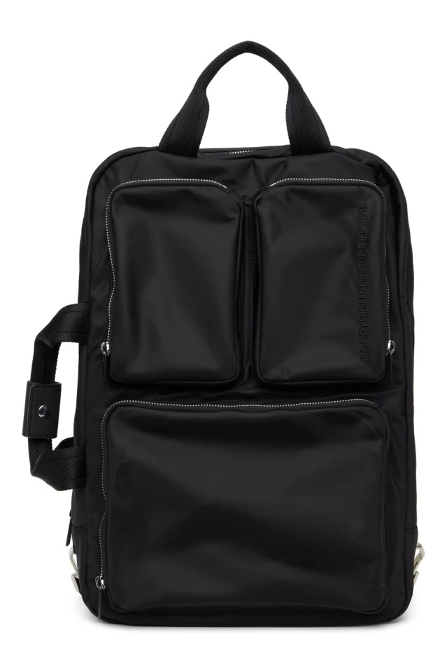 black work backpack