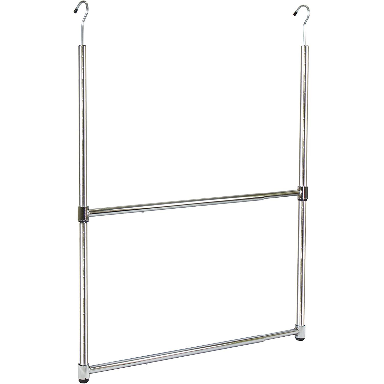 Oceanstar portable adjustable rod, how to organize a closet