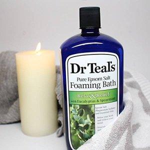 Dr. Teal's eucalyptus bubble bath, best bubble bath
