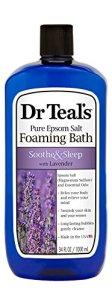 Dr. Teal's lavender bubble bath, best bubble bath